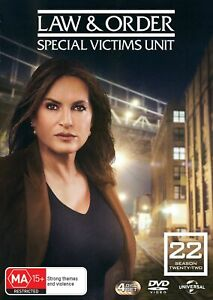 Law and Order Special Victims Unit Season 22 Box Set DVD Region 4 NEW