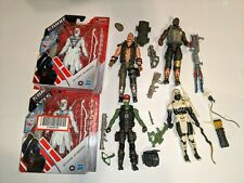 GIJoe Classified Lot: Arctic Storm Shadow, Beachhead,others and two movie figs.
