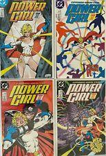 Power girl #1-4 8.0 VF (1988)