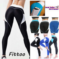 Women's Sports YOGA Workout Gym Fitness Leggings Pants With Pockets Trousers