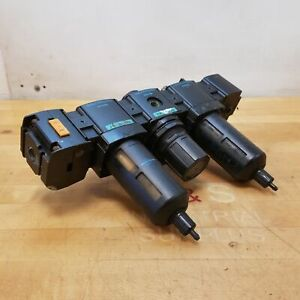 Wilkerson Pneumatic Assembly Includes: F18-03-SK00, R18-02-F0G0, V18-D3-0000