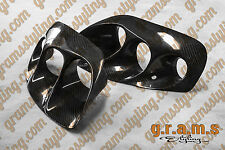 Fibre de carbone TOYOTA SUPRA mk4 AB-Flug Style Phare Projecteur Inserts V6