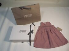 Lavender baby / toddler dress sz 12-18 m mamas & papas baby dress gift bag box