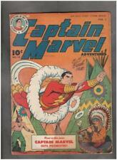 Captain Marvel Adventures #53 FAWCETT 1946 SIGNED CC Beck VG