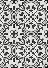 Encaustic Look Tiles -- Zamora 25 250x250mm Matt Glaze Floor Tiles (per M2)