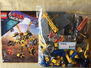 LEGO: The LEGO Movie, 70814, No Box, Used