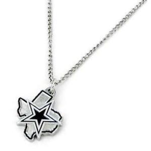 Dallas Cowboys Texas State NFL Design Necklace Jewelry Charm Bracelet