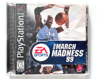 NCAA March Madness 99 Playstation Game PS1 Used Complete CIB Tested ++ WORKING
