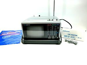"""Emerson 5.5"""" Color Television AM/FM Receiver PC5A in box! TESTED"""