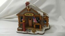 Lefton Colonial Christmas Village 10732 TRADING POST 1995 C2