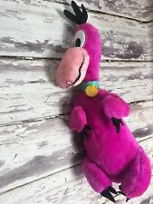 "Vintage The Flintstones 1993 Dino 19"" Plush Toy Play by Play"