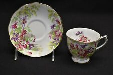 Royal Albert Columbine Cup & Saucer (Blemishes)