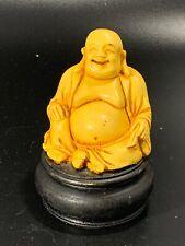 Laughing Buddha Resin Statue Figurine