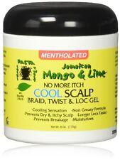 Jamaican Mango & Lime No More Itch Cool Scalp Braid Twist & Loc Gel 6oz