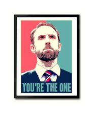 Gareth Southgate You're The One England World Cup Poster Art Print