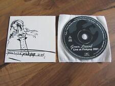 GREEN LIZARD Live At Pinkpop 2001 EUROPEAN promo CD album