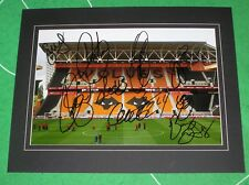 Mounted Stadium Photo Squad Signed by 10 2017/18 Wolverhampton Wanderers Wolves