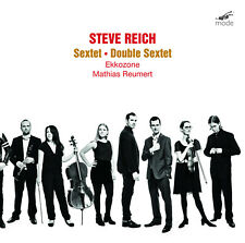 STEVE REICH: Sextet & Double Sextet – MODE CD SEALED  764593030027