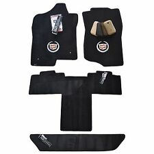 Cadillac Escalade ESV Floor Mats - Ebony - 32-OZ 2-PLY Quality - Long Body