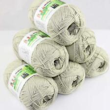 Sale New 6 Skeinsx50gr Soft Bamboo Cotton Baby Hand Knit  Shawls Crochet Yarn 24