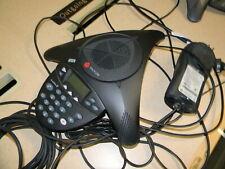 Polycom Soundstation 2 2201 16000 001 Non Expandable Speakerphone W Wall Module
