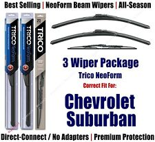 3-Pack Wipers Front & Rear - NeoForm 2015+ Chevrolet Suburban 16220x2/30130