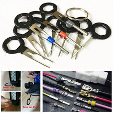 11x Car Plug Circuit Board Harness Terminal Crimp Pin Back Needle Remove Tools