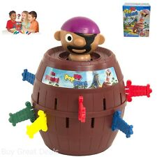 Pop Up Pirate Barrel Toys Hobbies Games Board Family Game Children