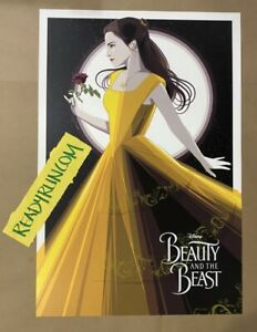 Beauty And The Beast Craig Drake Screenprint Disney Sold Out