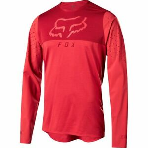 Fox Racing Flexair Delta Long Sleeve L/S Jersey Cardinal