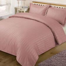 Linge de lit et ensembles roses en satin pour chambre à coucher