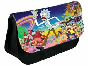 Rick & Morty pencil case..make up case,back to school gift,Gift for child