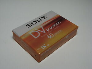 SONY Mini DV Premium 60 LP 90 Digital Video Cassette NEU OVP DVM60PR4