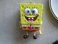 2002 Viacom Tin Spongebob Squarepants Candy Tin Lunch Box