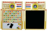 6 In 1 Magnetic Kids Teaching Learning Education Activity 2 Side Board 44cmx36cm