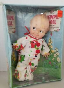 Rare 1974 Kewpie Cameo Doll In Sleeper Clown PJS Sealed In Original Box No 1210