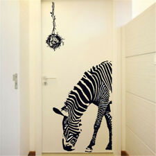 Lovely Zebra DIY Wall Stickers Abstract Art Black Decor Animal Stickers StickerE