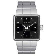 Nixon A013000 Quatro Black Silver Men's Watch