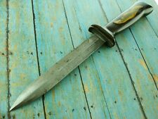 VINTAGE WW2 UTICA US M3 FIGHTING TRENCH THEATER COMMANDO DAGGER COMBAT KNIFE
