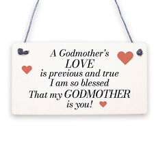 Godmother Gifts Thank You Gifts Wooden Flower Godmother Birthday Christmas Gifts