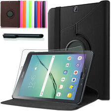 360°Samsung Galaxy Tab S2 9.7 T810/T815 Schutzhülle Tasche Etui Case +Pen +Folie