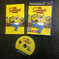 VIDEOGIOCO PS2 THE SIMPSONS GAME PAL  IN INGLESE *COME NUOVO*