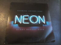 2016 Randy Rogers Band Nothing Shines Like Neon Vinyl LP Record 1st Press OOP