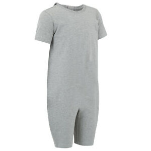 KayCey Zipback Jumpsuit SS Short Leg- Special Needs Kids Clothing - FAULTY ZIP