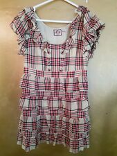 Beautiful silk dress from Juicy Couture size 8. Lined. Thrill and button detail.