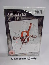 RESIDENT EVIL ZERO - NINTENDO WII - NUOVO SIGILLATO NEW SEALED PAL VERSION
