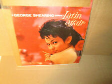 GEORGE SHEARING QUINTET - LATIN AFFAIR rare Vinyl Lp Capitol Mono VG+/G