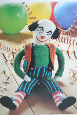 Clown Toy Knitting Pattern