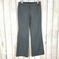 Express Editor Women's Size 6 Dress Pant Black St Wide Leg Career Trouser