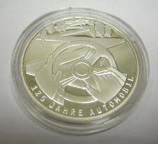 BRD DEUTSCHLAND 10 EURO MÜNZE 125 JAHRE AUTOMOBIL 2011 SILBER PP SPIEGELGLANZ